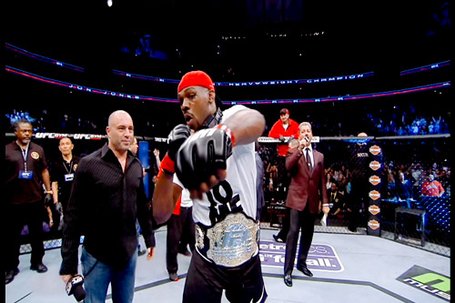 "Johnny ""Bones"" Jones wins Title again"