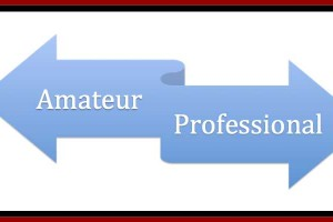 Professional vs. Amateur