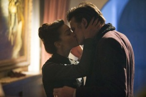 Clara kisses #11. And then gets all moody when #12 ages a few decades.
