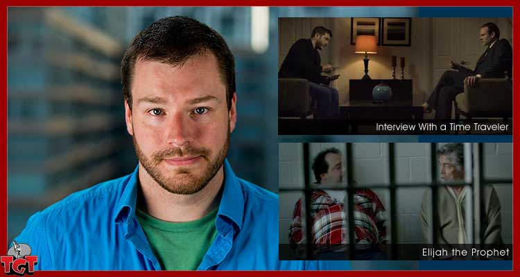 """James Cooper Canadian Director of """"Interview with a Time Traveler"""" and """"Elijah the Prophet"""""""