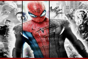 Spiderman to Colour the Avengers Team