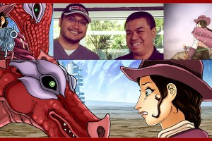 "Rod Espinosa & Carlo ""Doc"" San Juan talk Antarctic Press Immortal Wings Comic"