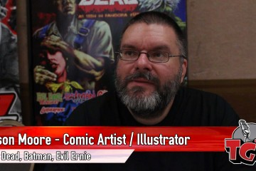 Jason Moore Horror Illustrator and Cover Artist