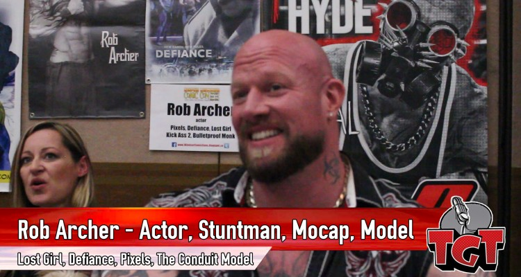 Rob Archer interviewed on Two Geeks Talking at Super Summer Comic Con 2
