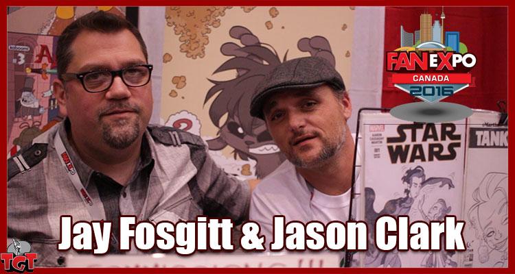 Jay P Fosgitt & Jay Clark Fan Expo Canada 2016