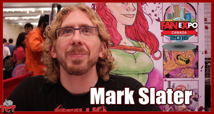Mark Slater from The Metal Woman - Fan Expo Canada 2016