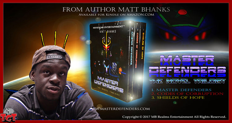 Matt Bhanks author Master Defenders