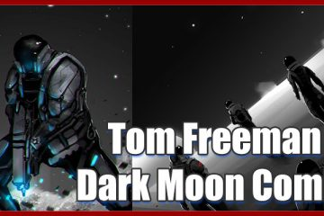 Tom Freeman creator of Dark Moon Comic