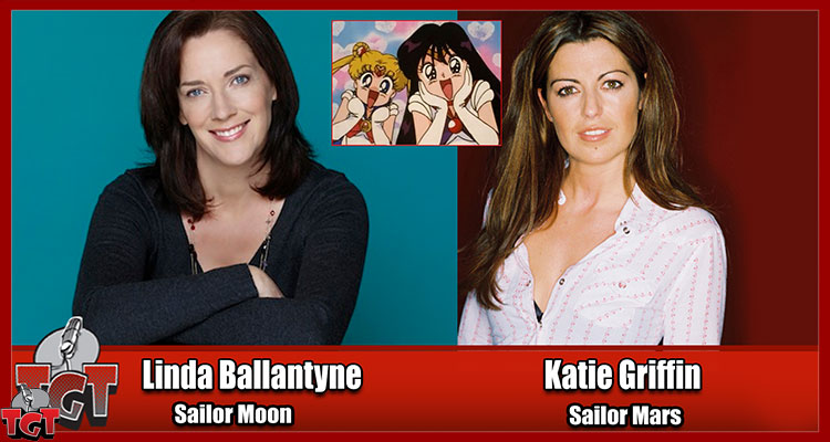 Linda Ballantyne and Katie Griffin voice actors from Sailor Moon and many more! Interviewed by Kurt Sasso from Two Geeks Talking tgtmedia.com