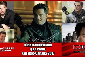 TGT John-Barrowman-Panel Fan Expo Canada 2017