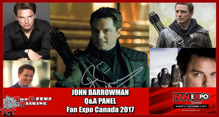 TGT John-Barrowman-Panel Fan Expo Canada 2017